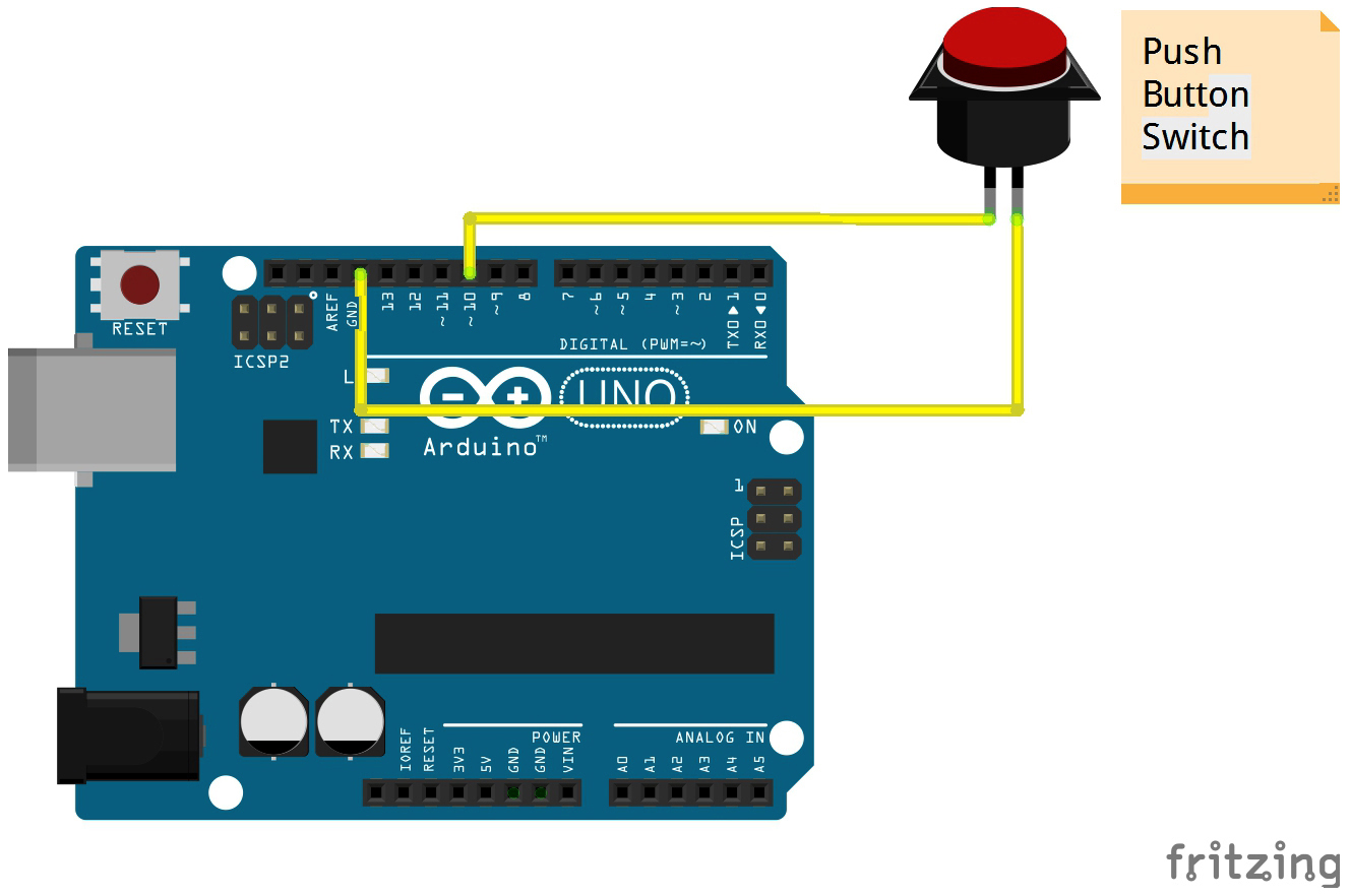 Simple Arduino toggle switch example - YouTube